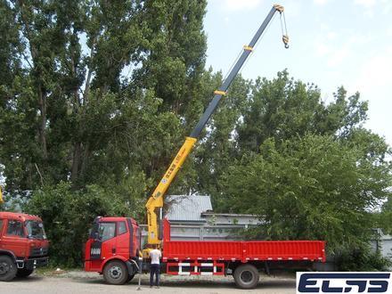 FAW  кран-5тонн, шасси-10тонн 2019 года за 18 500 000 тг. в Алматы – фото 3