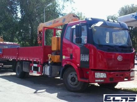 FAW  кран-5тонн, шасси-10тонн 2019 года за 18 500 000 тг. в Алматы – фото 20