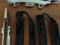 Mercedes w221 оправа решетка рамка хром никель на дхо drl… за 169 тг. в Алматы