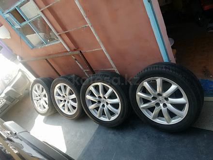 Комплект шин с дисками из Японии без пробега по кз за 85 000 тг. в Алматы – фото 5