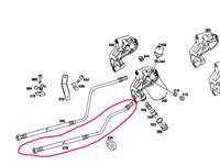 Шланг масляный (от фильтра к радиатору) Мерседес W 123, 280… за 19 000 тг. в Караганда