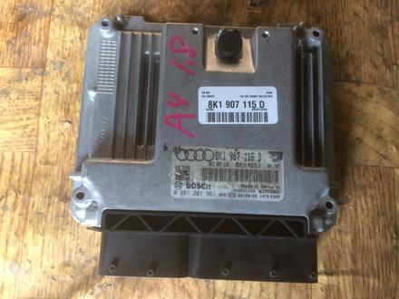 Блок управления двигателем 8k1907115d на Audi a4 b8, оригинал из… за 70 000 тг. в Алматы