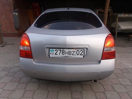 Nissan Primera 2002 года за 1 600 000 тг. в Алматы – фото 5