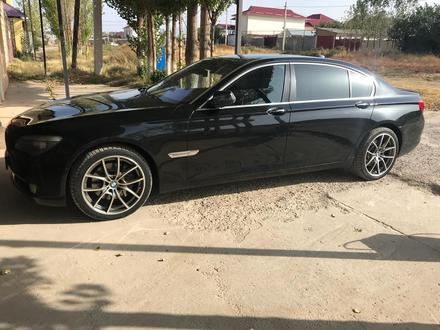 BMW 740 2009 года за 7 500 000 тг. в Шымкент – фото 18