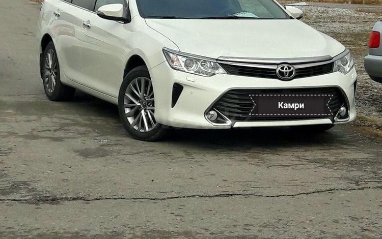 Toyota Camry 2017 года за 10 000 000 тг. в Нур-Султан (Астана)