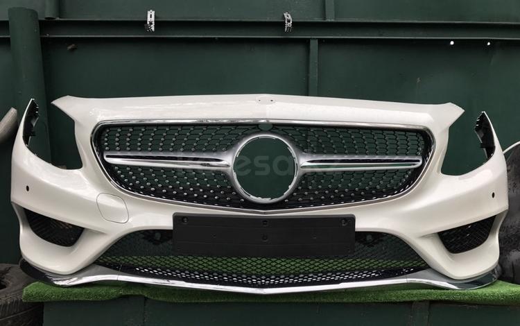 Бампер Mercedes S-coupe W217 AMG за 637 500 тг. в Алматы