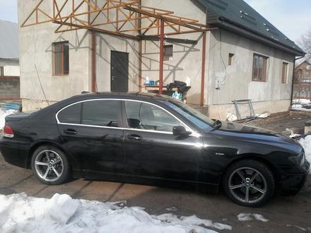 BMW 745 2002 года за 3 500 000 тг. в Алматы – фото 3